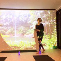 春日井市高蔵寺にあるヨガスタジオ|プロジェクターを使ったビジュアルヒーリングヨガを行なっています。